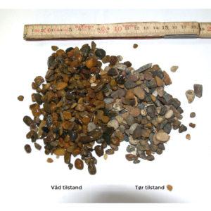Perlegrus brun 4-8 mm