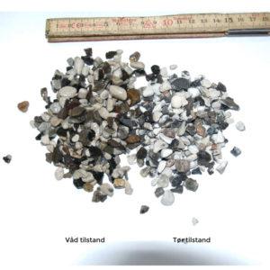 Perlegrus hvid 4-8 mm