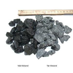 Granitskærver sort 16
